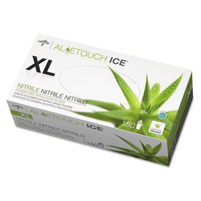 Medline AloeTouch Ice, Nitrile PF - XL (180)