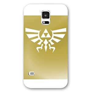 UniqueBox - Customized White Frosted Samsung Galaxy S5 Case, The Legend of Zelda Samsung S5 case, Only fit Samsung Galaxy S5
