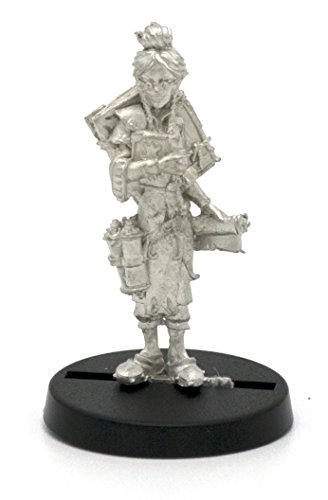 (Stonehaven Elf Librarian Miniature Figure (for 28mm Scale Table Top War Games) - Made in USA)