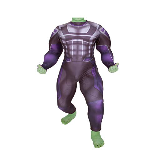 YiranYijiu Hulk Cosplay Costume Halloween Superhero Costumes for Adults/Kids (Adult-L, Fat Edition) ()