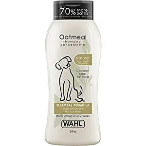 Amazon.com : Wahl Natural Oatmeal Pet Shampoo #820004T