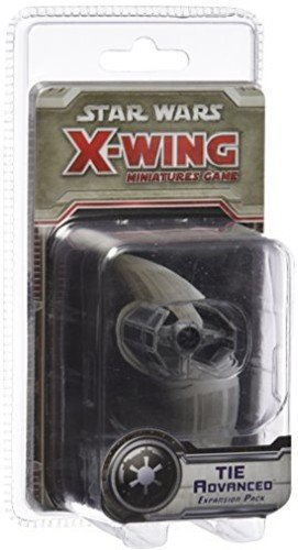 Fantasy Flight Games Star Wars X-Wing: TIE Advanced Expansion Pack (Star Wars Imperial Tie Fighter)