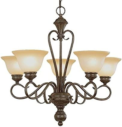 Millennium Light 6075-BG Five Light Up Chandelier