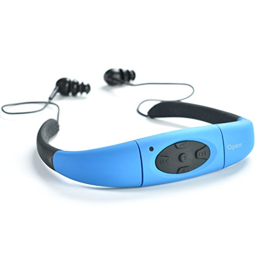 Waterproof MP3 Headphone, YIKESHU EN08 4G IPX8 Waterproof He
