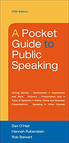 a pocket guide to public speaking dan o hair hannah rubenstein rh amazon com a pocket guide to public speaking ppt a pocket guide to public speaking book