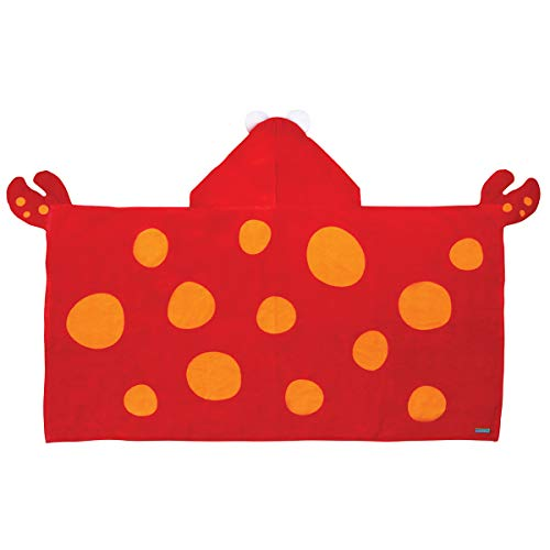 Stephen Joseph Hooded Towel, Crab