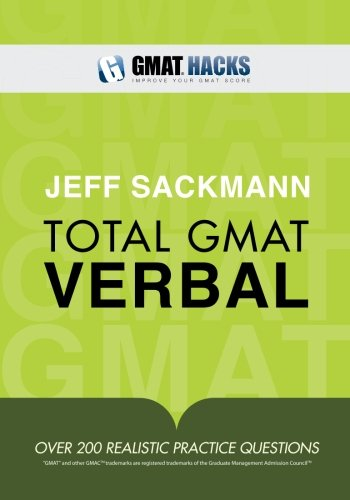 Total GMAT Verbal