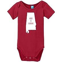 Made In Alabama Printed Infant Bodysuit Baby Romper