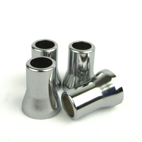 (Quick Pressure - TR413 Valve Sleeves (4 units/pack) - Chrome Plated)