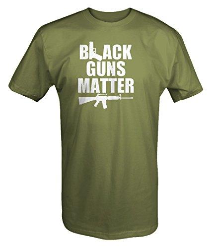 Black Guns Matter 9mm AR15 BLM NRA T shirt - 3XL