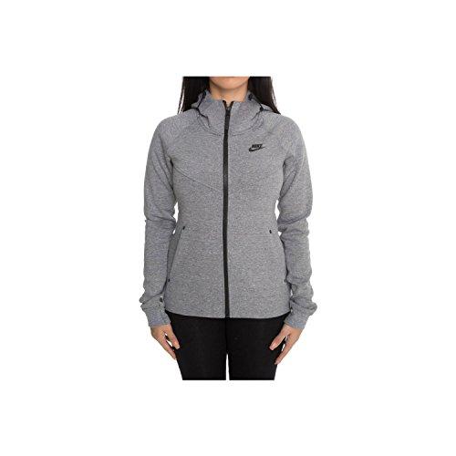 Nike Womens Tech Fleece Destroyer Jakke Grå 835544-091