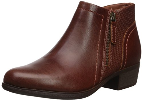 Cobb Hill Femmes Oliana Panneau Cheville Boot Selle Pull Up Lthr