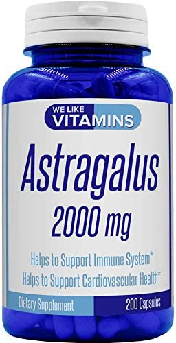 Astragalus 2000mg Capsules Supplement Cardiovascular product image