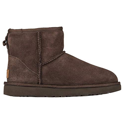 (UGG Australia Women's Classic Mini ll Boot, Chocolate, 6)
