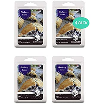 BAC Home Blueberry Scone Soy Blend Scented Wax Melts Wax Cubes, 2.5 oz, [6 Cubes] (4)