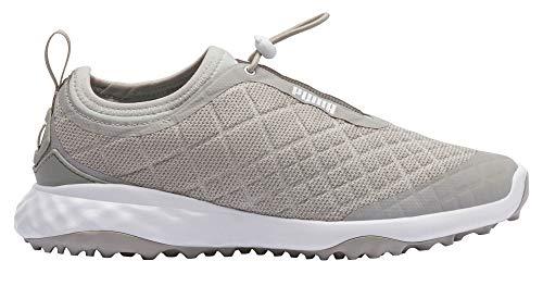 Puma Golf Women's Brea Fusion Sport Golf Shoe, Gray Violet-Puma White, 6 M US
