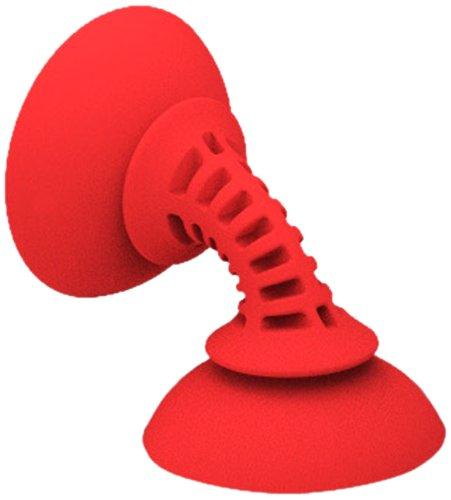 Striker Simple Sucker Flexible Smartphone Mount - Red ()