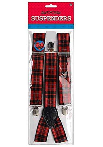 Amscan Geek Chic Suspenders ()