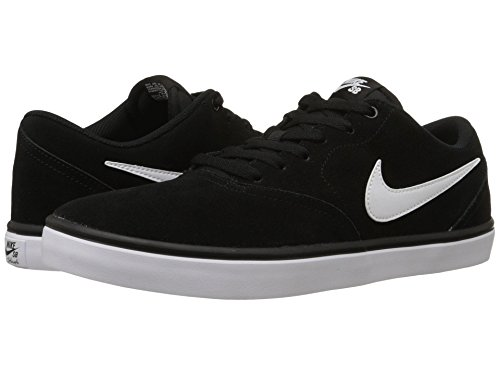 [NIKE(ナイキ)] メンズランニングシューズ?スニーカー?靴 Check Solar Suede Black/White 7.5 (25.5cm) D - Medium