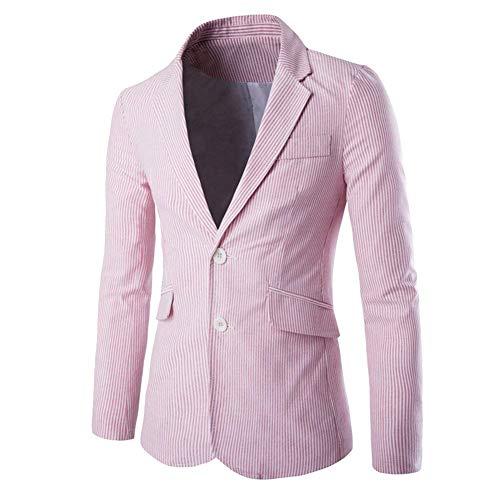 Da Sportiva Pink Adatta Giacca Mieuid Il Per Blazer Uomo Libero Tempo Chic Al Casual tqCwnx4a