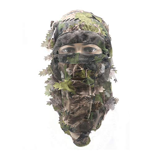 EAmber Ghillie Camouflage Leafy
