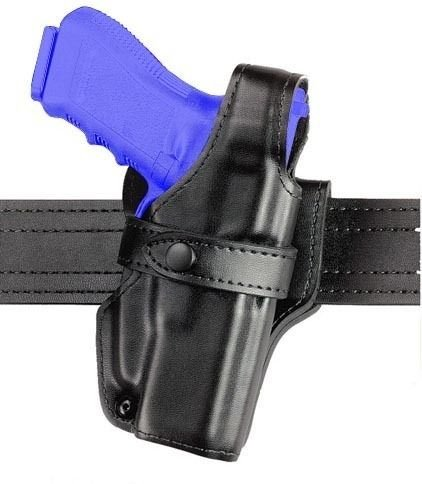 Safariland 070 Level III Retention Duty Holster, Mid-Ride, Black, High Gloss Left Hand, Beretta 92