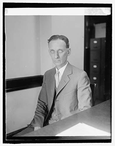 (Vintography Reproduced 16 x 20 Photo of: Chester Gray, Amer. Farm Loan Bureau. 1926 National Photo Company)