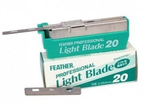 Feather Artist Club Pro Light Blades, 20 blades