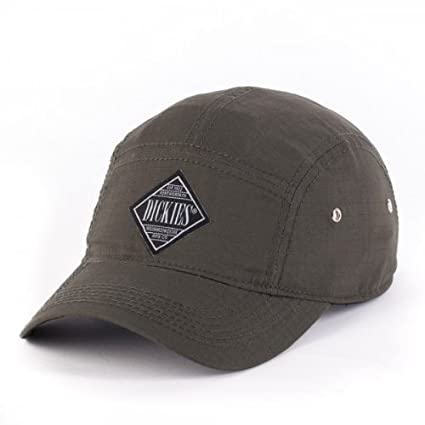Men s Dickies Adjustable Clip Back Hat Patch Cap - Olive - One Size  Sports    Outdoors eb18ed2291e0