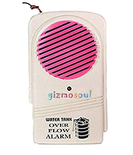 gizmosoul� Water Over Flow Tank Alarm with High Voice Sound Overflow (Multi Color)