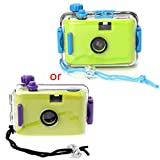 Shoresu Underwater Waterproof Lomo Camera Mini Cute 35mm Film with Housing Case New — Green