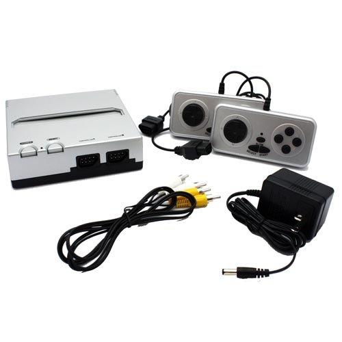 Retro Bit Nintendo NES Entertainment System (Silver/Black)