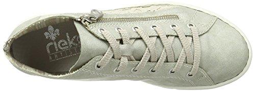 L0912 Sneaker Donna Beige Collo Beige a Frost Rieker Alto AHwBzqqd
