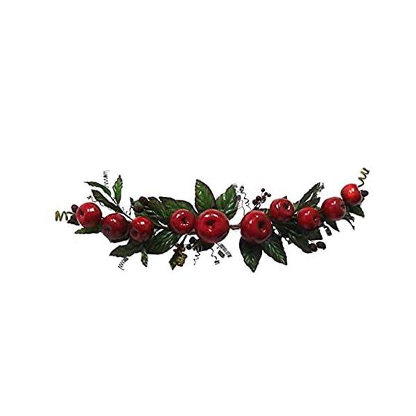 Wedding Flowers 39″ Apple Grape Swag Silk Home Party Decor