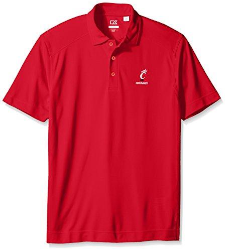 Classic Reds Cincinnati Shirt (Cutter & Buck NCAA Cincinnati Bearcats Men's Genre Polo, Small, Red)