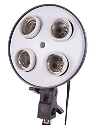 StudioPRO 2000 Watt Photography Continuous Photo Video Studio Softbox Lighting Kit - Two 4 Socket Heads 16\