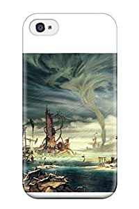 Durable Case For The Iphone 5/5s- Eco-friendly Retail Packaging(anarchy Reigns Warrior Sci-fi Anime City Apocalyptic )