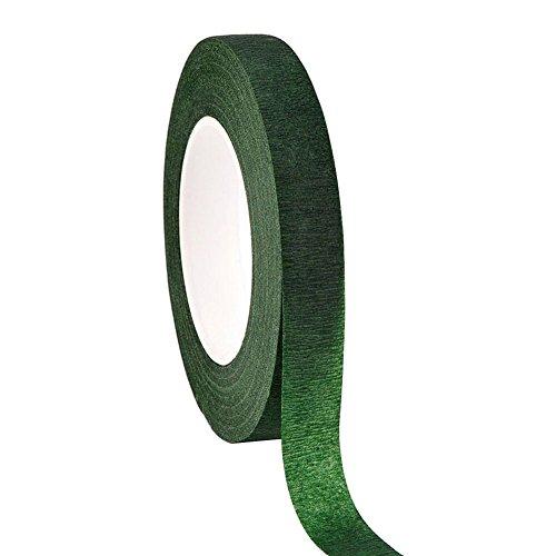 [해외]Cratone 부케 테이프 생일 케이크 테이프 생일 파티 장식 다크 그린 27.4 m * 1.2 cm 단순 아 DIY 귀여운 장식 멋쟁이 패션 (1 개) / Cratone Bouquet Tape Birthday Cake Tape Birthday Party Decoration Dark Green 27.4m*1.2cm Simple Girl DIY C...