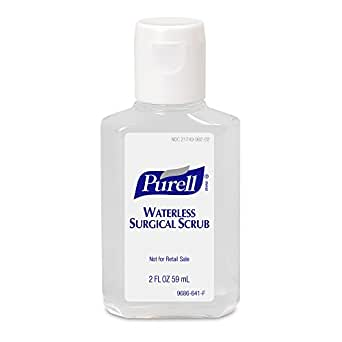 Amazon Com Purell Waterless Surgical Scrub Gel Fragrance Free 2