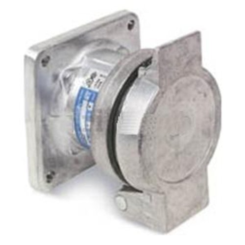Crouse-Hinds AR1047 4-Wire/4-Pole Arktite Heavy-Duty 100 Amp Circuit Breaking Threaded Cap Receptacle Housing ()