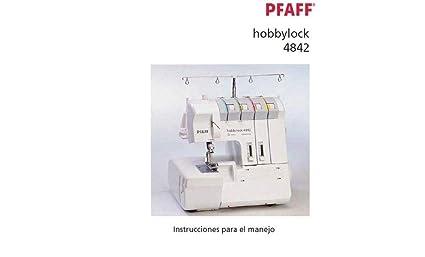 Download Pdf-File Pfaff 4842 manual Máquinas de coser