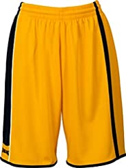 Spalding 4her Shorts Yellow/Black/White