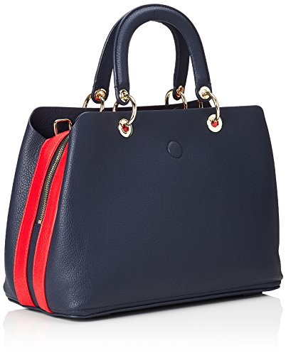 Navy Tommy Core Satchel Bleu Th Femme main Red Tommy Sac AW0AW05440 à Tommy Hilfiger IxPqI7t6