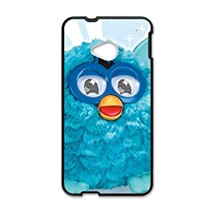 Happy Blue lovely animal Cell Phone Case for HTC One M7