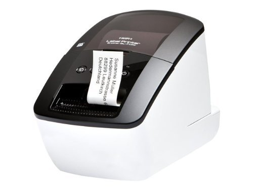 600 Dpi Thermal (Brother QL-710W QL 710W - Label printer - B/W - direct thermal - Roll (2.44 in) - 300 dpi x 600 dpi - up to 93 labels/min - USB, 802.11b, 802.11g, 802.11n)
