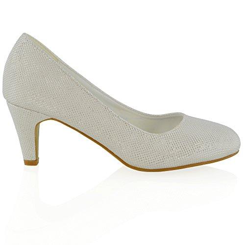 Chaussures Slip Femme Les Essex Hauts Sur À Glam Glamour Talons iuZPkOXT