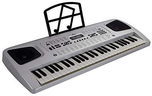 54 KEY ELECTRIC KEYBOARD - Electronic Piano Organ Music Microphone RECORDING, 29.5'' L x 11'' D x 2.5'' H, 10 levels of rhythm volume /10-level of volume adjustable by EDMBG