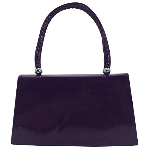 Evening Bags Prom Women's Wedding Clutch for Purple Party Purse Bridal Wocharm Elegant OwYtqXxO6