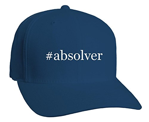#absolver - Hashtag Adult Baseball Hat, Blue, Small/Medium