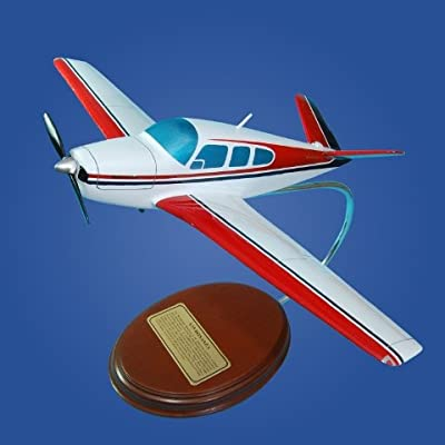 Mastercraft Collection V-35 Bonanza Wood Model Aircraft